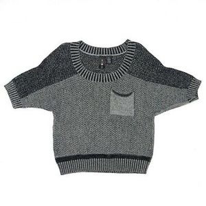 Boy Meets Girl Sweater Boxy Cropped Size XL